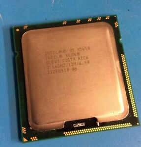 Processeur Intel Xeon X5650 2.66ghz / socket 1366 / 12Mo de cache (ref SLBV3)