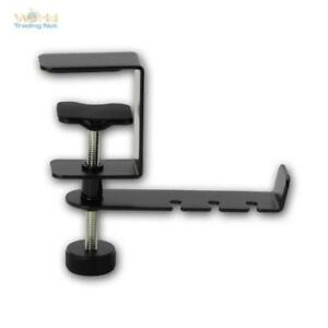 Universal-Kopfhörerhalter TM1, Screw Terminal For Table/Shelf, Mount Headphones