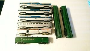 Athearn/Penn Line HO Train Lot of 8 Undecorated Passenger Cars