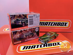'41 Cadillac Series 62 Convertible MBX City MATCHBOX 1941 Cabrio Metal Parts