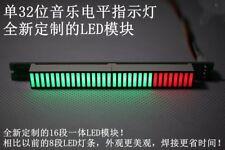 32bit Level Indicator Panel VU Meter Mono Channel LED finish Board