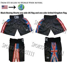 Us/Uk Flag Boxing, Mma, Grappling, Martial Arts, Training Fitness Running Shorts