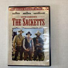 Louis L'Amour's The Sacketts, Good DVD, Sam Elliott, Tom Selleck, Glenn Ford D4