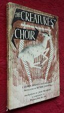 The Creatures Choir by Carmen Bernos De Gasztold 1965 HCDJ Vintage
