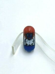 Mighty Beanz 31 Mystique Marvel Comic Bean Blue Red Classic