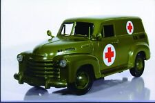 1:18 Mira Chevy Panel Truck '50 Military Ambulance