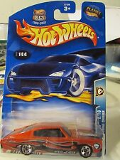 Hot Wheels 1967 Dodge Charger #144 Wastelanders Red