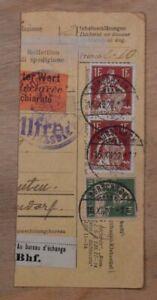 Mayfairstamps Switzerland 1922 Rorschach Parcel Receipt wwp72133