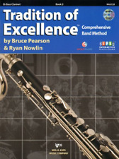 KJOS W62CLB Tradition of Excellence - Book 2 - Bass Clarinet