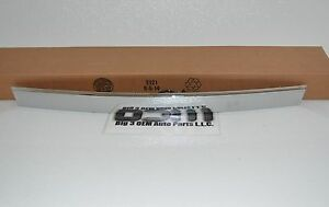 2011-2016 Chevrolet Cruze Rear Trunk Chrome Trim with Lamp & Touchpad new OEM