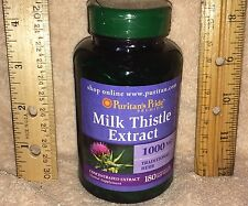 LARGE BOTTLE: Silymarin Milk Thistle (4:1 extract = 1000 mg), 180 softgels