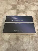 2014 Kia Sorento Owners Manual OEM Free Shipping