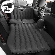 Car Airbed Travel Inflatable Mattress Back Seat Cushion( Black)