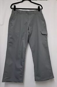 Womens CRAGHOPPERS Trousers Size 14, W34  L27 Womens Grey Cargo Trousers  B40