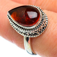 Baltic Amber 925 Sterling Silver Ring Size 9 Ana Co Jewelry R50184F
