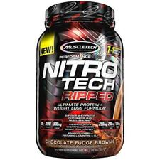 Muscletech Nitro Tech Ripped Whey Protein Isolate Weight Loss Formula US SELLER