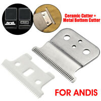 2 in 1 T-outliner Replacement Ceramic Blade Clipper For Andis Electric Shear
