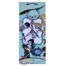 Sword Art Online Keychain SAO Kazuto Kirito Kirigaya Asuna Key Holder 5 Pendant