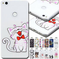 For Huawei Rubber Protective Clear Skin Soft Silicone TPU Shockproof Case Cover