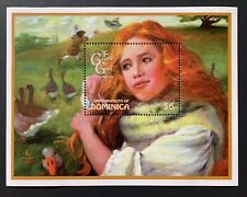 DOMINICA 1997 MNH THE GOOSE GIRL SOUVENIR SHEET BROTHERS GRIMM FAIRY TALE STAMPS