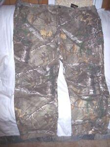 Mens 2X Realtree Camo Pants Hunting Pants Thick Camo Bdu Pants BDU Cargo Pants