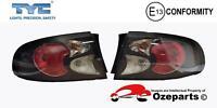 Pair LH+RH Tail Light Lamp Black For Holden Commodore Sedan VT VU VX 97~02