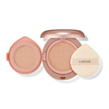 [LANEIGE] Layering Cover Cushion SPF34 PA++ 14g + 2.5g (or Refill)