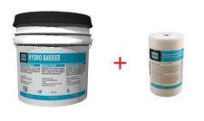 "Laticrete Hydro Barrier 1 gal 9256-0401-4 + Waterproofing Membrane Fabric 6""x75'"
