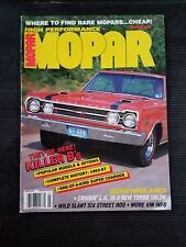 Hi-Po Mopar Mar 1990 Dodge Super Bee 1962-1967 - Plymouth Road Runner Super Pack