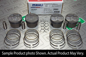 Mahle Gold Series Honda H22A1 Flat Top Pistons 87mm 10:1 CR Stock Sleeve