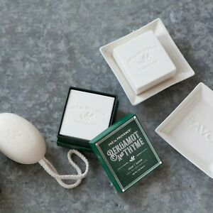 PRE de PROVENCE Bergamont & Thyme Bath Soap 20% Shea Butter Gift Box Mens Womens