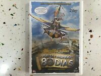 VUELTA AL MUNDO 80 DIAS AROUND THE WORLD IN DAYS 2 DVD ARNOLD SCHARZENEGGER   AM
