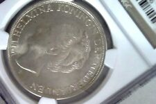 Curacao 2-1/2 Gulden, 1944-D, NGC MS 65, Low Mintage