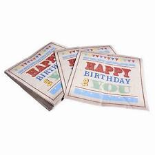 Tischdekorationen-Servietten für Geburtstage, Kinder
