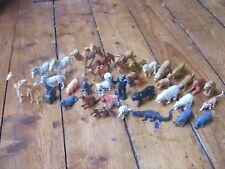Plastic Animal Toys Vintage Models Retro Made England / Hong Kong 1960s? 70s?