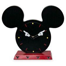 NEW Disney I Am Mickey Mouse Icon Tabletop Wood Clock Collectible Disneyland NIB