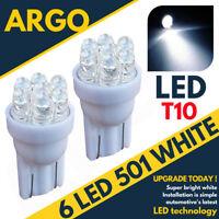 7 LED Xénon Blanc 501 T10 W5w Feu Latéral Ampoules ford Fiesta Hayon st Zetec