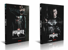 The Punisher Seasons 1-2 DVD (6 Disc Set) Complete with Slip Covers USA seller