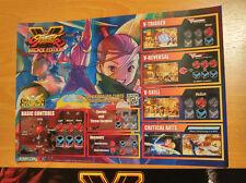 Capcom Street Fighter V 5 Art set for Taito Vewlix Candy Cab Jamma Taito Type X