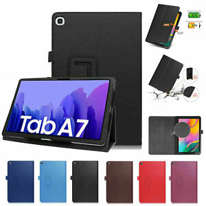 """COVER CUSTODIA MAGNETICA SUPPORTO per Samsung Galaxy TAB A7 2020 10.4"""" T500 T505"""