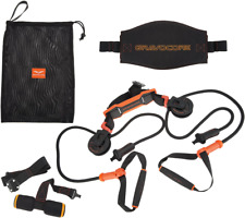 Gravocore Over-the-Door Portable Pulley and Harness Workout System.  f13376