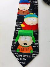 South Park Men's Black Character Wide Fit Tie