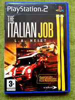 The Italian Job L.A. Heist (Sony PlayStation 2, 2003, PAL, PS2, Game, Complete)