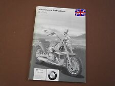 BMW R1200C Maintenance Instructions Manual