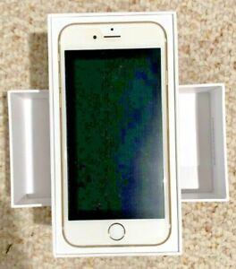 Apple iPhone 6, Gold, 64 GB Unlocked Mint Condition