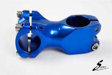 Alloy Bicycle Handlebar Stem Fixed Gear Fixies Road Bike 60mm Blue