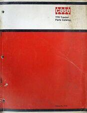 Original Case 770 Tractor Parts Catalog No. 1170