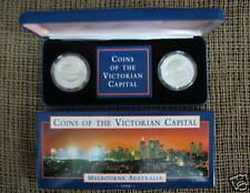 1998 Coins Victorian Capital Melbourne Aust Proof set.