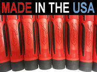 8 Red Lamkin Dual Density Torsion Control Prototype REMINDER Golf Grips USA