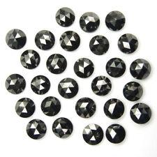 2.00 MM Real Natural Black Loose Diamond Round Rose Cut A1 Grade 10 Pc